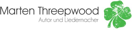 Marten Threepwood - Autor und Liedermacher (Logo)